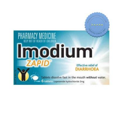 Buy imodium zapid 6 tablets -