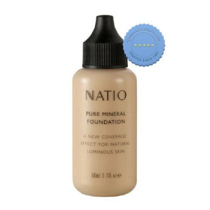 Buy Natio Pure Mineral Foundation Deep Tan -