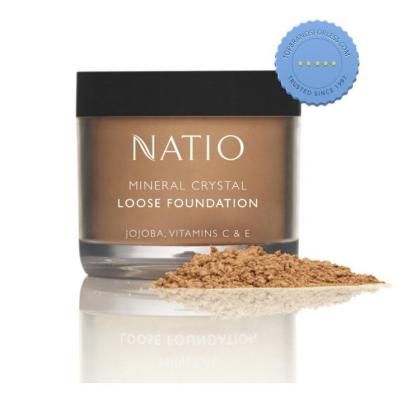 Buy Natio Mineral Crystal Loose Foundation Beige
