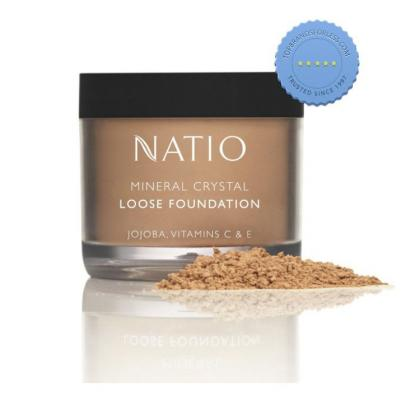 Buy Natio Mineral Crystal Loose Foundation Tan -