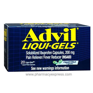 Buy Advil Liquid 20 Capsules -