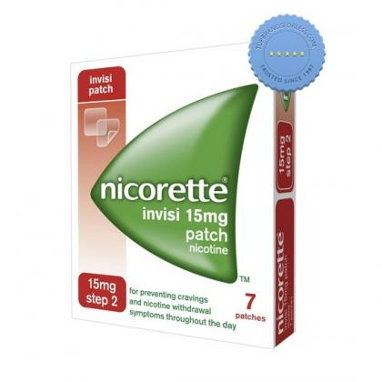 Buy Nicorette Invisi Patch Nicotine 15mg 7 Patches