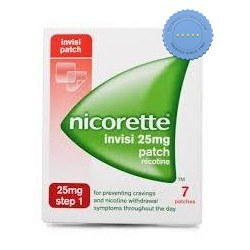 Buy Nicorette 16hr Invisipatch Step 1 25mg x 7 Patches