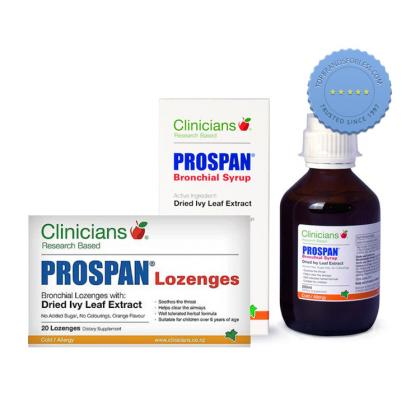 Buy Clinicians Prospan Hot Deal 200ml plus 20 Lozenges