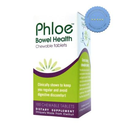 phloe bowel health chewable tablets 120 chewable tabs - Prompt Dispatch
