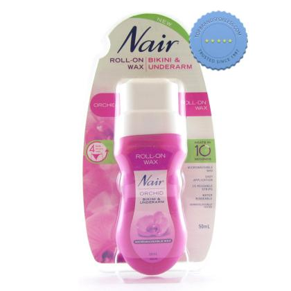 Buy Nair Roll On Wax Bikini and Underarm 50ml -