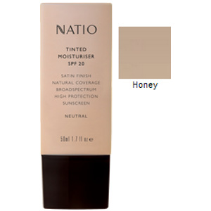 Buy natio tinted moist spf20 honey -