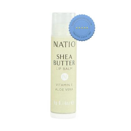 Buy natio shea lip butter balm -