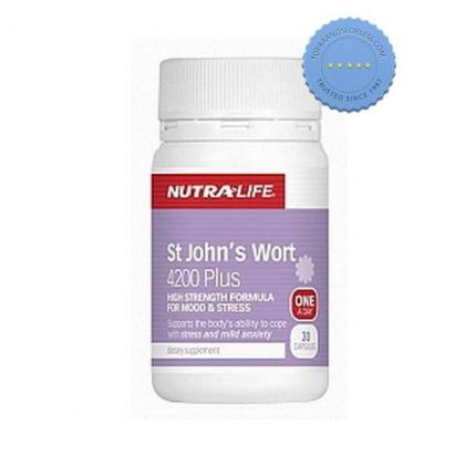 Buy Nutralife St Johns Wort 4200 Plus 30 Capsules -