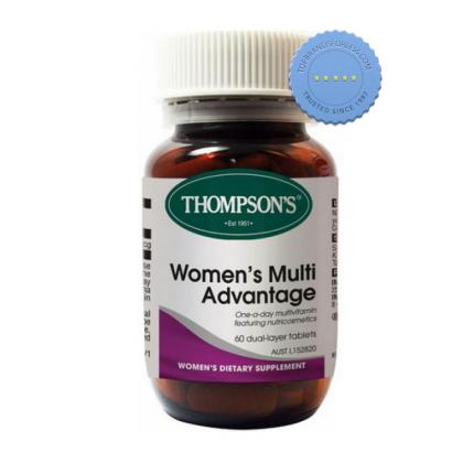 Buy Thompsons Womens Multi Advantage 60 Tablets - Prompt Dispatch