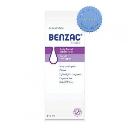 Buy Benzac Daily Facial Moisturizer SPF15 118 ml