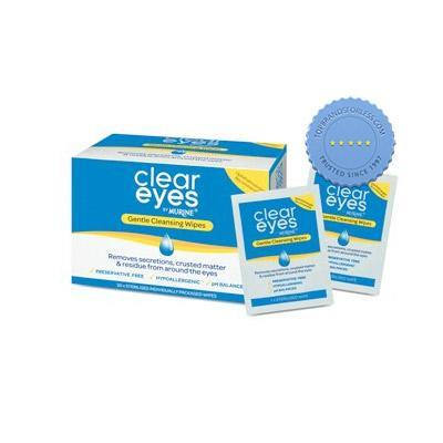 Buy Clear Eyes by Murine Gentle Cleansing Wipes 30 Pack -
