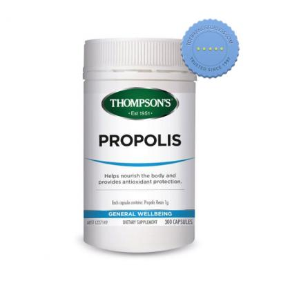 Buy Thompsons High Potency Propolis 1000 300 Capsules - Prompt Dispatch