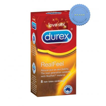 Buy Durex Real Feel 8 Non Latex Condoms - Prompt Dispatch