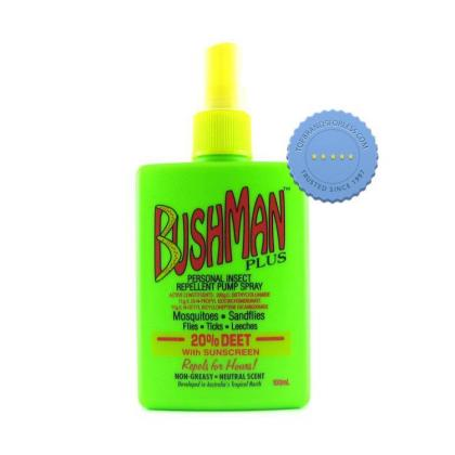 Buy Bushman Plus Personal Insect Repellent With Sunscreen 100ml Pump