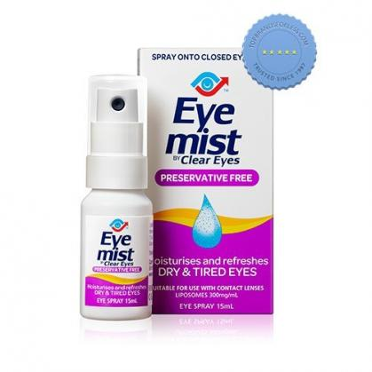 Buy Eye Mist by Clear Eyes Preservative Free Eye Spray 15ml -