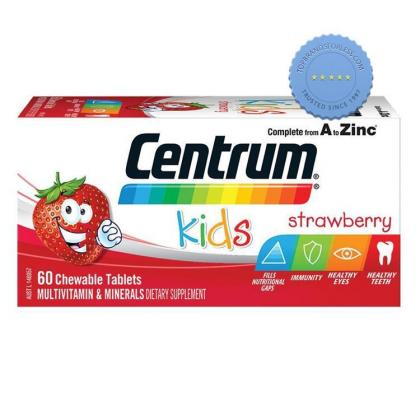 Buy Centrum Kids Strawberry 60 Chewable Tablets - Prompt Dispatch