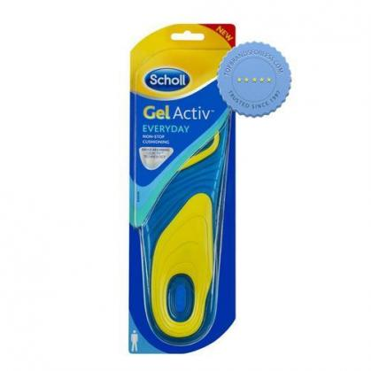 Buy Scholl Gel Activ Everyday Insoles for Men - Prompt Dispatch