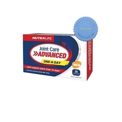Buy Nutralife Joint Care Advanced 1 a Day 30 Capsules