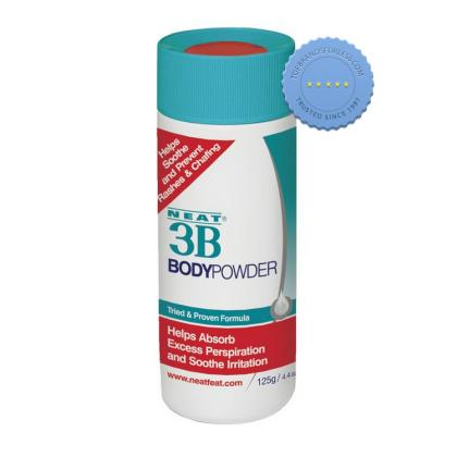 Buy Neat 3B Body Powder 125g For Skin Chafing and Rubbing -