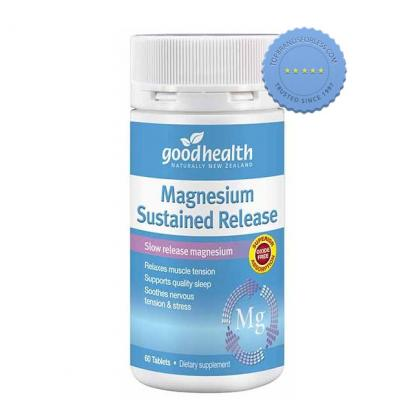 Buy Good Health Magnesium Sustained Release 60 Tablets -