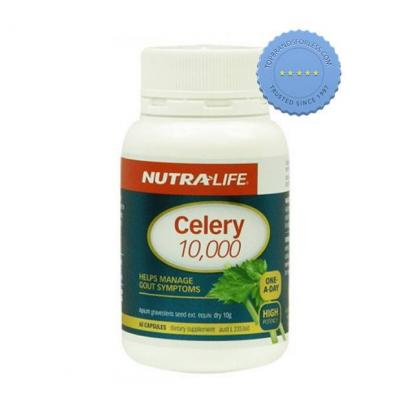Buy Nutralife Celery 10000 One a Day 60 Capsules