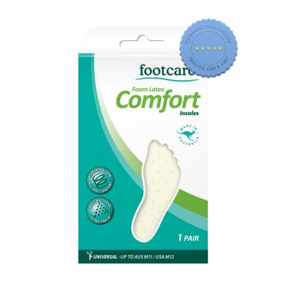 Buy Footcare Foam Latex Comfort Insoles 1 Pair - Prompt Dispatch