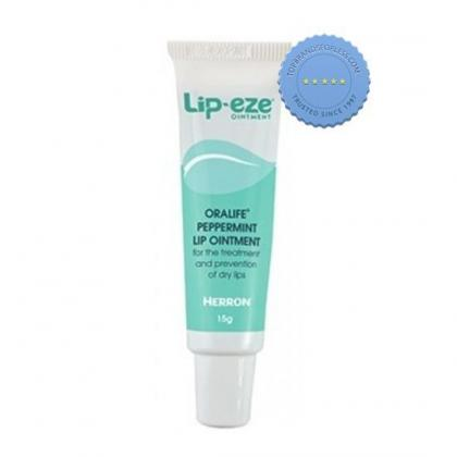 Buy Lip Eze Oralife Peppermint Lip Ointment 15g