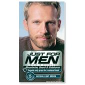 Buy Just for Men Beard Natural Light Brown