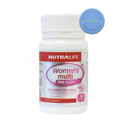 Buy Nutralife Womens Multi One-A-Day 30 Capsules - Prompt Dispatch