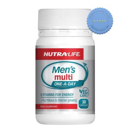 Buy Nutralife Mens Multi One a Day 30 Capsules - Prompt Dispatch