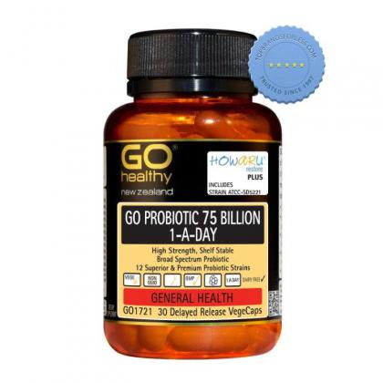 Buy GoHealthy Go Probiotic 75 Billion 30 Vegecaps - Prompt Dispatch