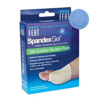 Buy Neat Feat Spandex Gel Cushion Bunion Pads Medium - Prompt Dispatch
