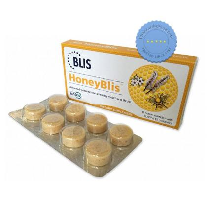 Buy Blis Honeyblis 8 Honey Lozenges with Blis K12 Probiotics -