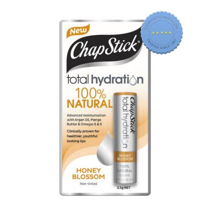 Chapstick Total Hydration 100 Percent Natural Plus Tint Honey Blossom 3 5g -