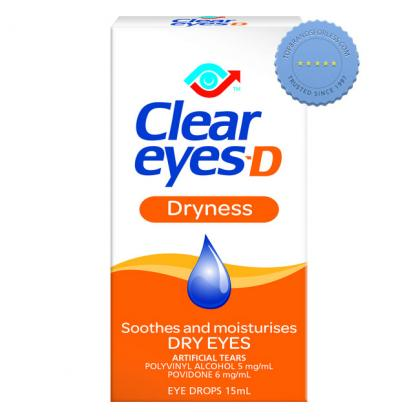 Buy Clear Eyes D Dryness 15ml - Prompt Dispatch