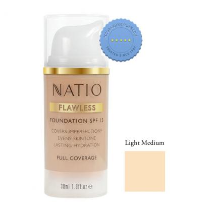 Natio Flawless Foundation SPF 15 Light Medium