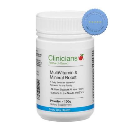 Clinicians Multivitamin and Mineral Boost Powder 150g