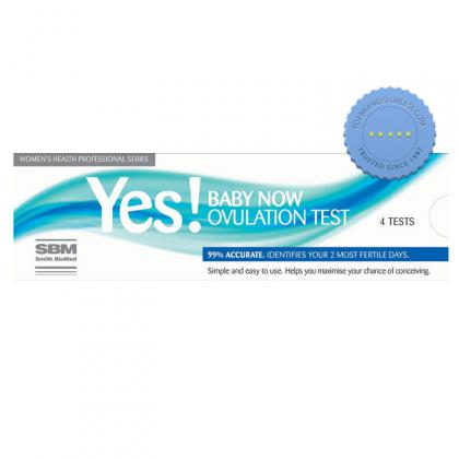 Buy Yes Baby Now Ovulation Test 4 Test - Prompt Dispatch