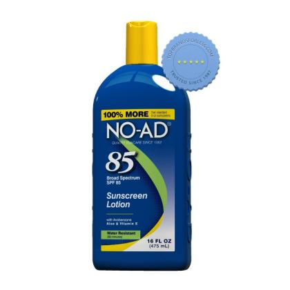 Buy No Ad Sun Care SPF85 Sunscreen Lotion 475ml - Prompt Dispatch