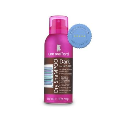 Buy Lee Stafford Dry Shampoo 150ml Dark Brown