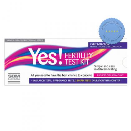 Buy Yes Rapid Result Fertility Kit - Prompt Dispatch