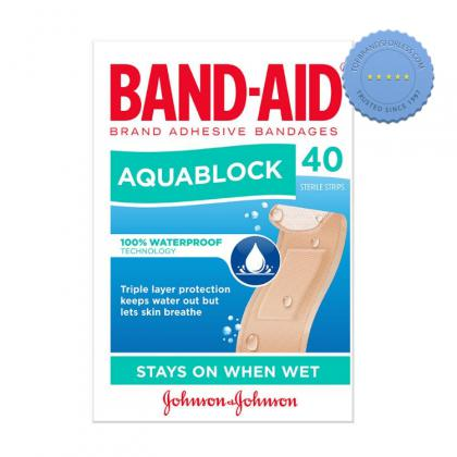 Buy Band Aid Aquablock Strips 40 - Prompt Dispatch