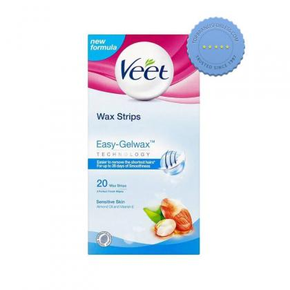 Buy Veet Easy Gel Wax Technology 20 Wax Strips - Prompt Dispatch