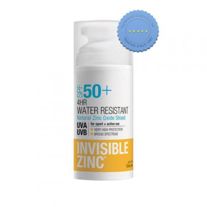 Buy Invisible Zinc SPF50 4hr Water Resistant 100ml - Prompt Dispatch