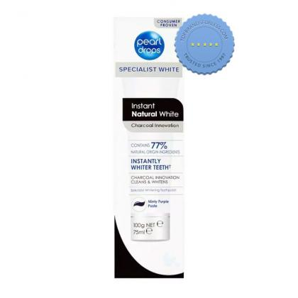 Buy Pearl Drops Instant Natural White Toothpaste 75ml - Prompt Dispatch