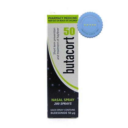 Butacort Nasal Spray 50 mcg 10ml