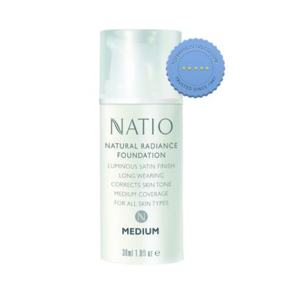 Buy Natio Natural Radiance Foundation Medium - Prompt Dispatch