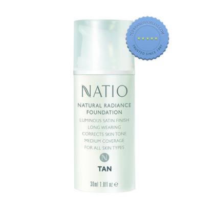 Buy Natio Natural Radiance Foundation Tan - Prompt Dispatch