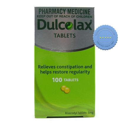 Buy Dulcolax 5mg 100 Tablets